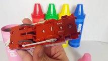 Et enfants les couleurs Emilie pour amis Apprendre jouets les trains avec Thomas crayons thomas ben