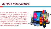Web Development and Web Marketing Services AT APMB Interactive
