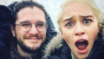 Game Of Thrones: Emilia Clarke Mocks Kit Harington In A Funny Video