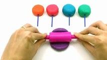 Jouer Apprendre les couleurs arc en ciel animaux moules amusement et Créatif pour enfants doigt la famille