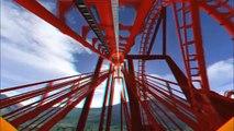 Balle des lunettes Courses Coasters russes en montagnes russes en colonnes colossus-3d nécessaires-nolimits c