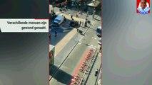 Busje rijdt in op voetgangers Barcelona, politie gaat uit van aanslag