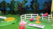 Porc tous les dessin animé sur Peppa Pig Peppa trouvé Peppa cochon mère argent rue a crié se