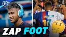 Neymar s'ambiance sur Niska, le maillot du footix, le show CR7 | ZAP FOOT