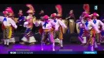 Extrait reportage France3 Régionale 61e Festival International de Folklore : La Farandole -  Théâtre de Verdure - Nice