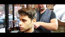 Classic Hairstyle How To Style Men S Short Hair Mad Men S Side Part