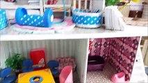 Poupée meubles maison avec pour jouets avec poupées meubles de maison, jouer des poupées déballer