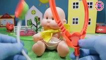 Dans le enfants pour jouets dessins animés dessins animés poupées éducatives jeu pupsiki devoch hôpital