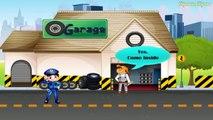 Et voiture voiture voiture des voitures rêve enfants mécanicien roues demain garage de la police de demain