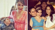 Pregnant Bollywood Actress Soha Ali Khan ★ Taimur Ali Khan ★ Kareena Kapoor ★ Sara Ali Khan
