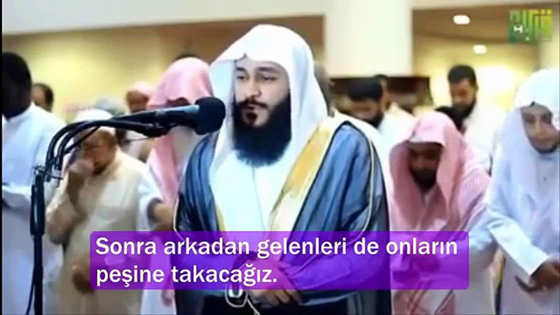 DİNLE GÖR ,ALLAHA NASIL YAKIN OLUNUR.Abdurrahman El Ussi - Mürselat suresi SubhanAllah çok güzel