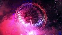 London Fireworks 2016 /2017 New Years Eve Fireworks BBC One