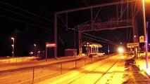 Incroyable transformateur de soufflerie de train à charrue à neige puissante à travers des pistes de chemin de fer enne