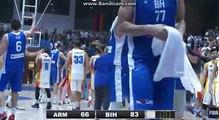 Slavlje bh. košarkaša nakon pobjede protiv Armenije