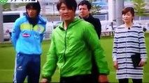 Uchikata del secreto Buruzanovitchi no giratoria rampa de Shunsuke Nakamura FK rotación libre