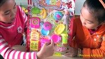 Cuisine jouet les légume les jouets de cuisine de cuisine de fruits géant velcro pour les enfants