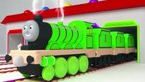 Et enfants les couleurs couleurs pour enfants Apprendre nombres à Il Entrainer Véhicules avec Thomas 3d lear