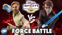 Obi Wan Kenobi VS Darth Maul Disney Infinity 3.0 Star Wars Toy Box Boss Battle Versus