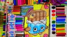 Et couleur coloration les couleurs crème pour main de la glace enfants Apprendre nombres aquarelle pages