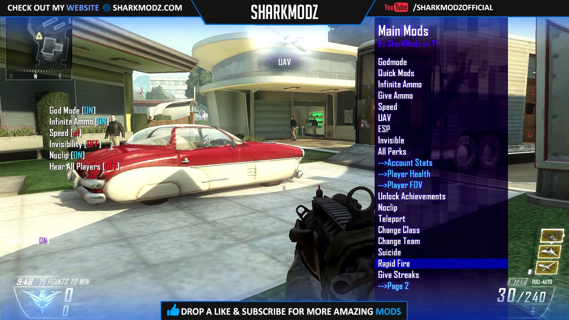 Black Ops 2 USB Mod Menu Tutorial   Xbox One/Xbox 360/PS3   +DOWNLOAD