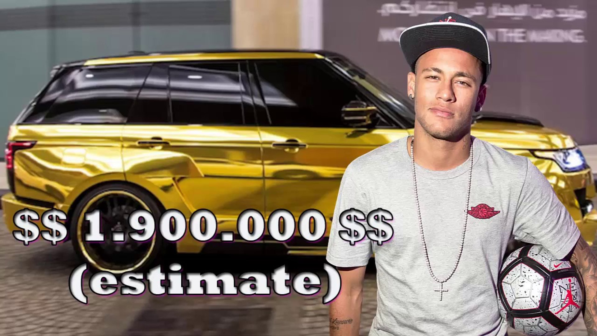 Neymar - $2 000 000 CARS COLLECTION 2017