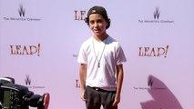 Jason Drucker LEAP! Los Angeles Premiere Red Carpet