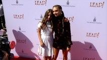 Maddie Ziegler, Mackenzie Ziegler LEAP! Los Angeles Premiere Red Carpet