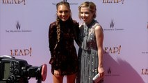 Maddie Ziegler Meets Carly Rae Jepsen LEAP! Premiere in Los Angeles