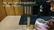 Cómo hacer cohetes para polvo negro cohete tutorial endburner