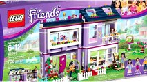 Lego Friends Olivias House Set Building Review Play - Kids Toys
