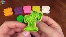 Jouer et Apprendre couleurs avec briller jouer bonjour minou avec de la glace crème plage thème moules