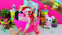 GIANT DRACULAURA Surprise Egg Play Doh 2016 - Monster High New Dolls Toys