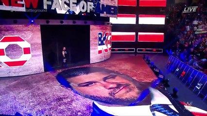 AJ STYLES VS Kevin Owens United states championship (battleground HD 2017)
