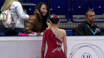 2016 ISU Junior Grand Prix Ostrava Ladies Short Program Rika KIHIRA JPN