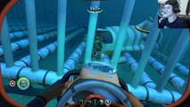Subnautica BEST MONSTER BATTLE CAGE EVER, PERFECT CONTAINMENT Subnautica Gameplay
