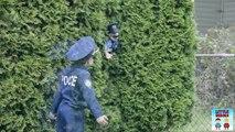 Flics héros enfant petit moto bruit parodie le le le le la vidéo Police de police de kidz motorz