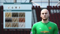 FIFA 16   VIRTUAL PRO LOOKALIKE TUTORIAL FABIEN BARTHEZ