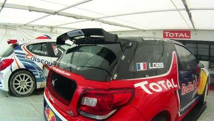 Citroen DS3 Sébastien Loeb Rallycross test drive AUTOhebdo