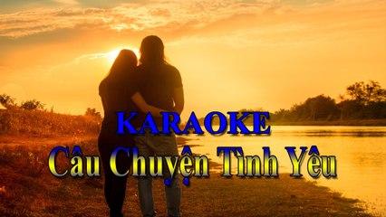 Karaoke - Nhạc trẻ remix : Câu Chuyện Tình Yêu - Yanbi [ TOP NCM ]