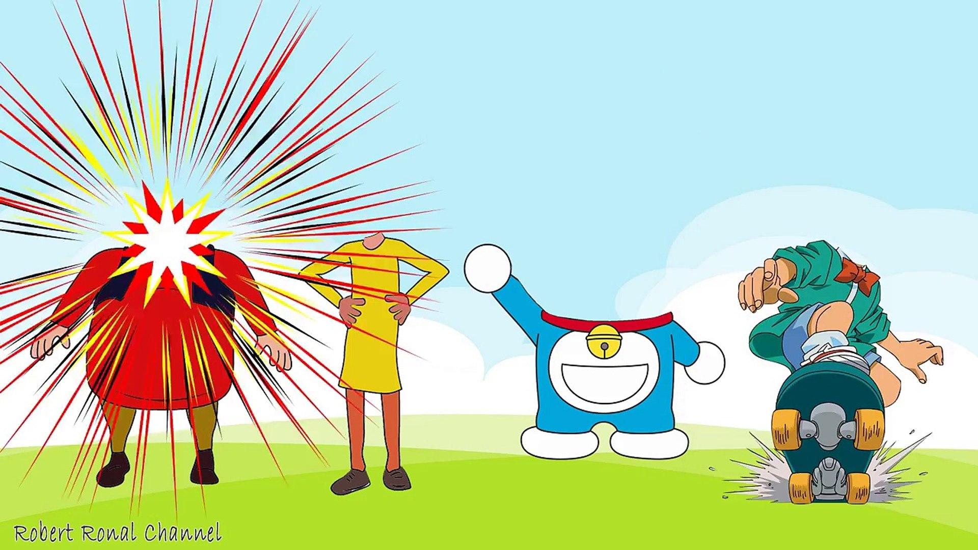 Learn Colors Wrong Heads Conan trolls Motu Patlu vs Doraemon