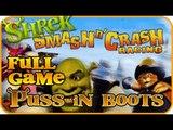 Shrek Smash n' Crash Racing Part 3 - FULL GAME - Puss in Boots & Bull (PS2, PSP, Gamecube)