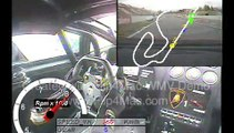 (INCREDIBLE SOUND) Lamborghini Gallardo Super Trofeo onboard at Barcelona