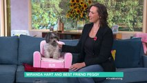 Miranda Hart Introduces Her Adorable Dog Peggy To Holly And Phillip   This Morning