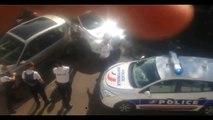 Montargis: La police ouvre le feu sur un suspect armé d'un couteau - Toute la scène filmée par un amateur