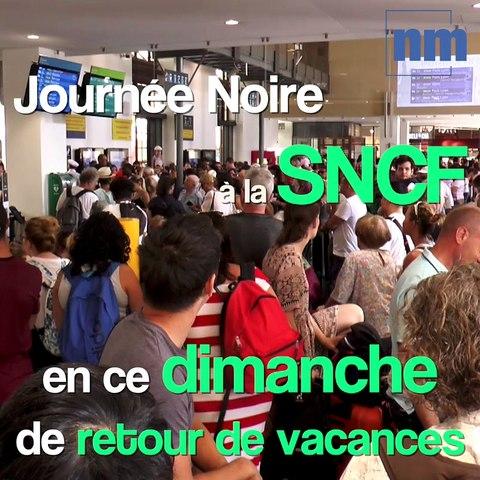 Près d'un millier de voyageurs coincés à la gare de Nice à cause de l'incendie d'Aubagne