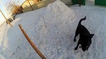 Ледяная горка как сделать горку и правильно залить горку из снега как