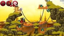 Enojado aves jugabilidad parte cerdo rebeldes lado estrella estrellas Guerras 3 2 paso a paso iphone 4