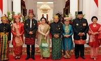 Semua Mantan Presiden Hadiri Upacara Bendera di Istana