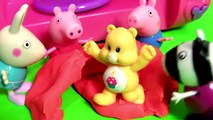 La magie Magie micro onde souris sur ou porc pâte à modeler Peppa utilisant forninho microondas da minnie  