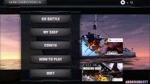 Appel de navires de guerre monde devoir bataille navale androïde